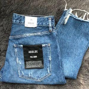 ELITE HP ❤️NWT AGOLDE Jamie Hi Rise Classic Jeans